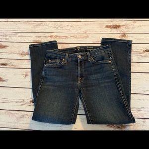 Seven kimmie straight leg jeans 28 7 all mankind